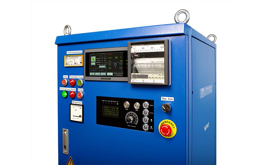 Индукционная установка для отжига VAI