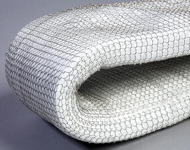 Керамическое волокно в проволочной сетке